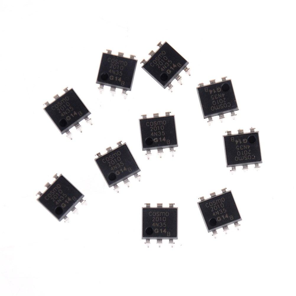10 Stücke 4n35 Fsc Optokoppler Fototransistor Ic Anschlüsse 30 V Dip6 Heißer Neue Weitere Rabatte üBerraschungen