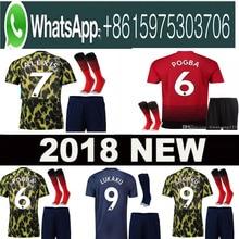 2862d3d56 Optimum quality 2018 2019 Manchester United man utd adult men kit soccer  Jerseys camisetas shirt survetement Football shirt