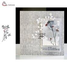 Ветка цветок растение металлические режущие штампы трафарет для DIY бумажные карточки для скрапбукинга декоративное ремесло штампы тиснение штампы
