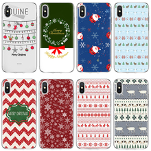 Christmas noel for iPhone X 5 5S 6 6S 7 8 Plus for Samsung Galaxy A3 A5 J3 J5 J7 S5 S6 S7 A6 A8 S8 S9 Plus Case Back TPU Cover