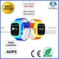GPS + BDS + LBS + Wi-Fi + AGPS Двухсторонний Говорить SOS Alarm Одну Кнопку На Помощь Детям GPS Телефон Часы 600 мАч Батареи в режиме ожидания 5 дней