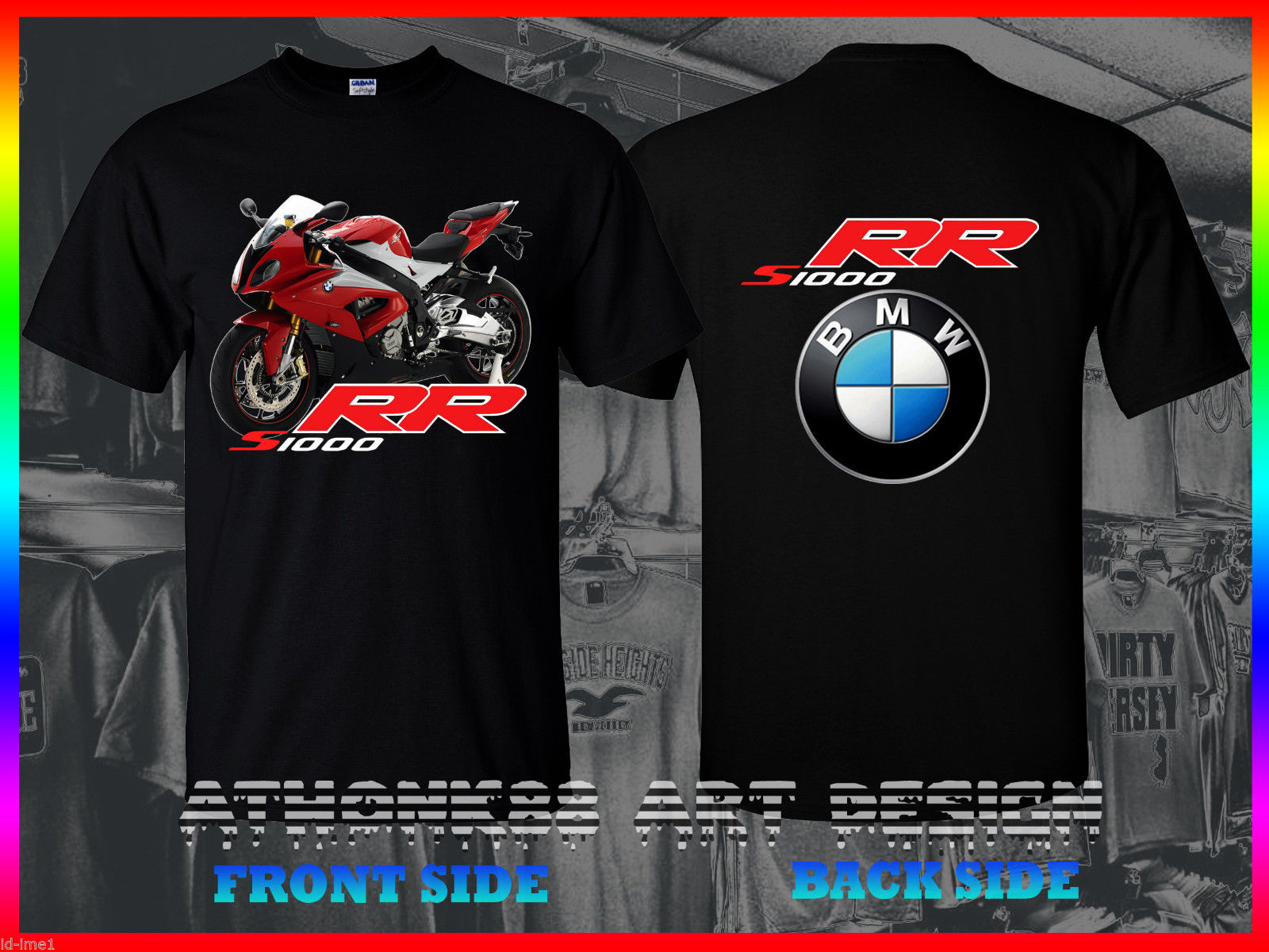 2018 Hot Sale 100% cotton 2016 Germnay Motorcycle S1000RR T-SHIRT 2016 RED S1000RR T-SHIRT HP4 T-SHIRT Tee shirt