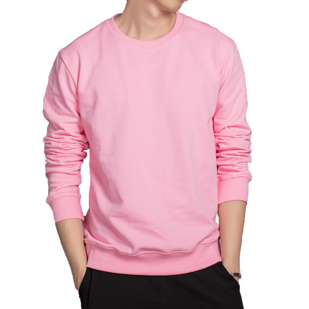 Mens loose hoodies Pink Black Red Grey White candy color hoodies breathable cotton sweatshirts casual outwear soft clothes