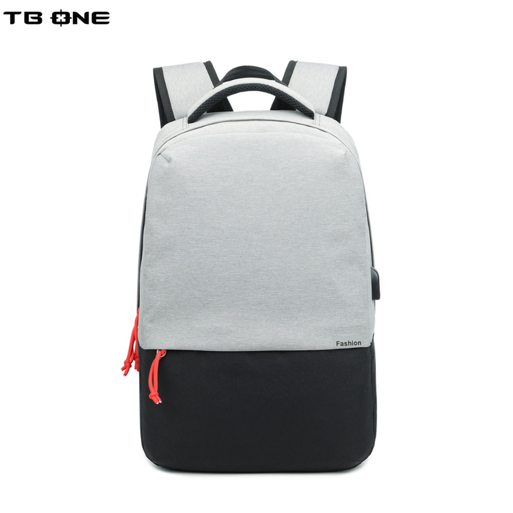 TBONE 15inch Laptop Backpack External USB Charge Computer Backpacks Anti-theft Waterproof Bags for Men Women School Bag quot laptop backpack external usb charge computer backpacks anti theft waterproof bags for men women school large capacity