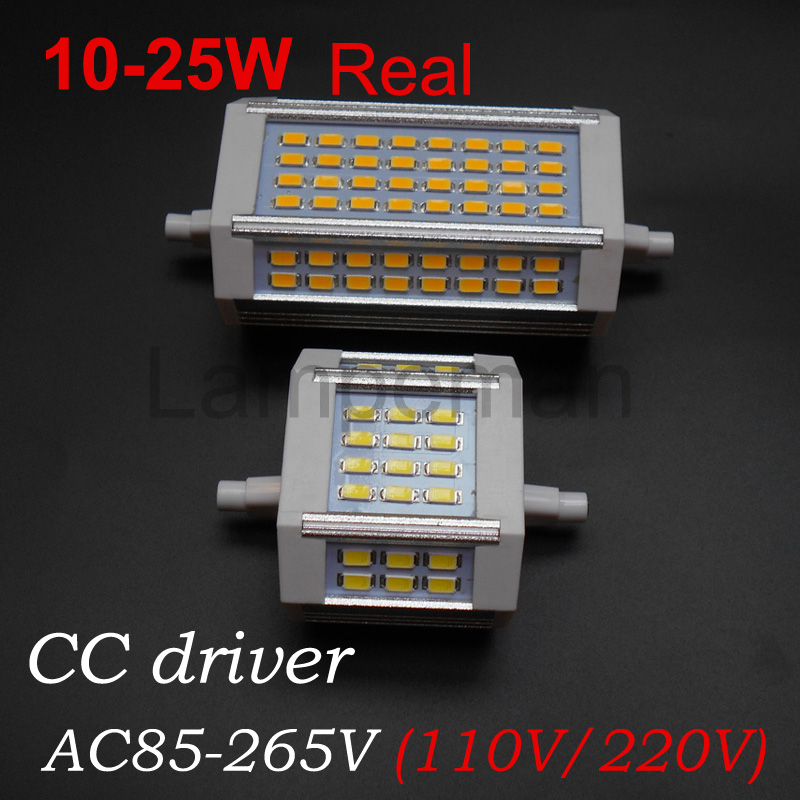 Lamp led r7s 78mm 118m j78 j118 replace halogen lamp 10w for Led r7s 78mm 20w