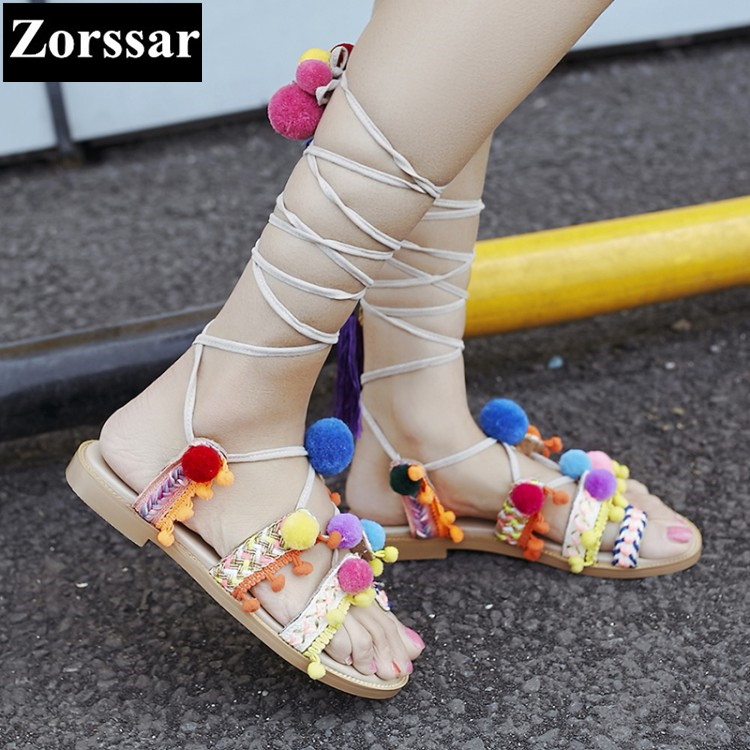 2017 NEW BIG SIZE 33-42 Summer Women flat sandals open toe Fashion Cross strap Casual flats Roman gladiator Womens shoes 2017 new arrival hot sale fashion summer sweet women flats heel sandals casual buckle strap roman sandals flat flat women shoes