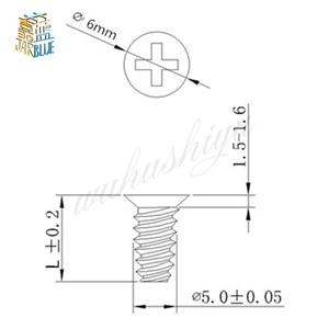 Image 2 - 1000pcs M5*8mm M5*10mm M5*12mm Pc Case Cooling Fan Frame Screw Radiator