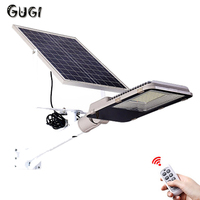 GUGI 10W 20W 30W 50W 100W Outdoor Solar LED Light Street Waterproof Split Better Solar Panel Control Solar LED Lamps for Garden