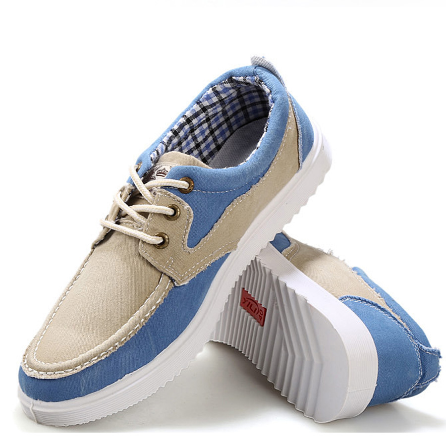 Skate shoes 2017 - Trend Top Summer Fashion Men Canvas Shoes Korean Men Breathable Casual Shoes Wear Comfortable All Match Skate Shoes Hot Sale