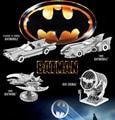 Assembling 3D Metal Model Funny Nano Puzzles BATMAN&SUPPER MAN 5 styles BAT SIGNAL/DAWN OF JUSTICE BATMOBILE Wholesale price