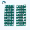 20 pcs SMD Para DIP 0805 0603 0402 SMT Para MERGULHAR Placa adaptadora Pinboard Capacitância Resistência LED SMT PCB Eletrônico Circuirt placa