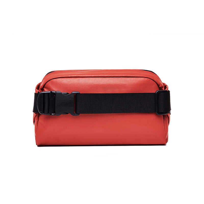 NINETYGO 90FUN urbana con estilo riñonera Casual bolso de la cintura bolsa de pecho de las mujeres/los hombres de negro/azul/rojo/naranja estilo Casual