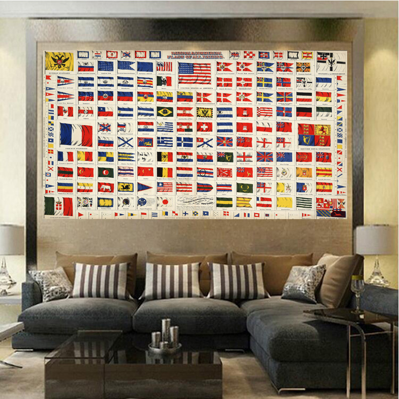 Factory sale many country flag fashion living room for Living room 12x16