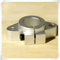 SHF 50 Bearing Support Horizontal Shaft Brackets SHF50 Inside Diameter 50mm Linear Optical Axis Aluminum Seat