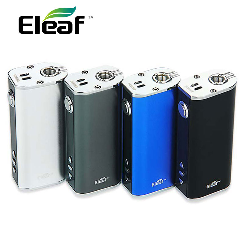 Original Eleaf iStick TC 40W Box Mod 2600mAh Temperature Control TC40W Battery Mod Support TC-Ni/VW Mode Electronic Cigarette newest smy sdna200 mechanical box mod oled display temperature control 200w box mod vape mod vw vt mode
