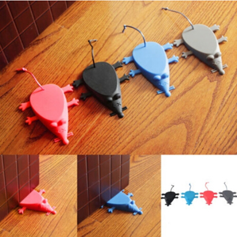 Cartoon Cute Animal Mouse Shape Silica Gel Door Stopper Baby Safety Supplies Protect Baby Children Kid Safe Supplies