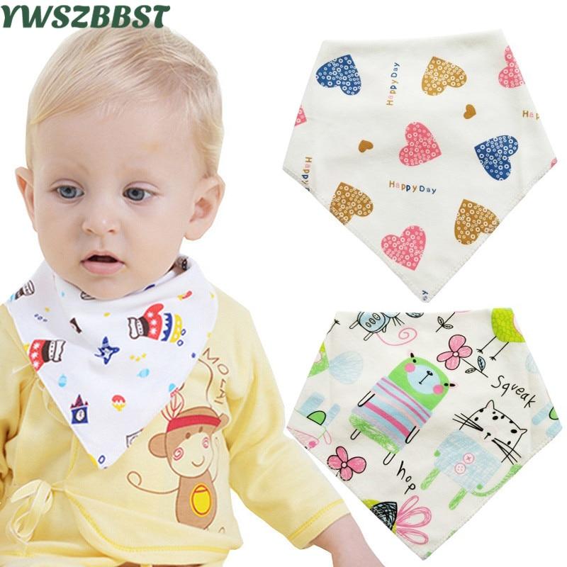 2019 Neuer Stil X1 Baby Lätzchen Für Jungen Mädchen Baumwolle Baby Spucktücher Infant Speichel Handtücher Neugeborenen Lätzchen 0-3 Jahre Alt Buy One Give One