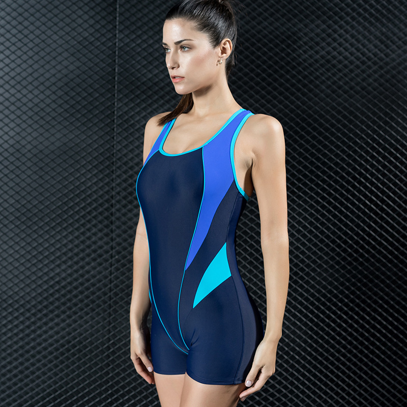 One Piece Sexy Swimwear Sports Tight Angle Professional Competition