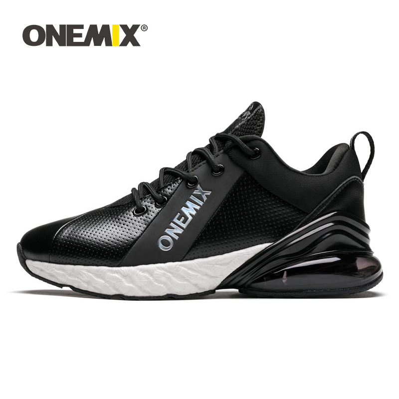 ONEMIX Winter Sports Trainers For Men Running Sneakers For Women Outdoor Jogging Shoes Shock Absorption Cushion Basketball Shoes