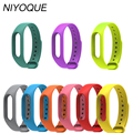 NIYOQUE for Mi Band 2 Bracelet Strap Replacement Wrist Strap Miband 2 Band Belt for Xiaomi Miband 2 High Quality