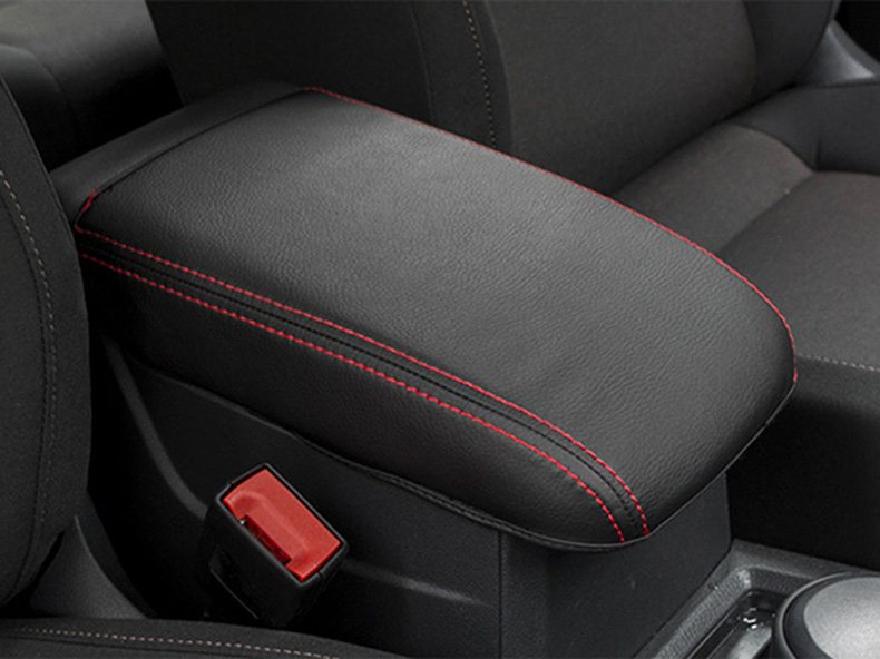 For VW golf sportsvan 2016 2017 Armrest Console Pad Cover Cushion Support Box Armrest Top Mat Liner Car pu leather car suv center box armrest cushion console soft pad cushion cover mat memory foam rest pillow armrest supports
