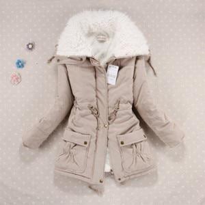Image 2 - ฤดูหนาวเสื้อผ้าผู้หญิงขนแกะ Lamb Fur Parka หนาผู้หญิงฤดูหนาวเสื้อโค้ทและแจ็คเก็ต Warm Parkas Women Plus ขนาดเสื้อแจ็คเก็ตฤดูหนาวผู้หญิง