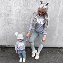 Family Clothing Spring Long Sleeve T shirt Dad Mom and Baby T-shirt Mother Kids Boys Girls Tops Clothes Family Matching Outfits