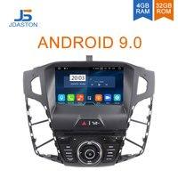 JDASTON Android 9,0 автомобильный dvd плеер для Ford Focus 2011 2012 2013 2014 мультимедиа вайфай gps стерео 1Din автомобильный Радио Аудио авто видео