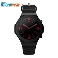 Microwear H2 Smart Watch MTK6580 Heart Rate Smartwatch GPS 3G WIFI Pedometer smart watch Bluetooth Earphone Support SIM Card