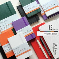 Lattice Grid Notebook A6 Dot Sketchbook Portable Leather A5 Writing Pads Painting Pocket Books Fashion Travel