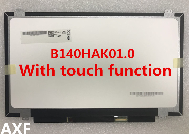 Brand new original For Lenovo Thinkpad T470s B140HAK01.0 FHD IPS AG Touch LCD screen 1920*1080 электронные компоненты brand new b39si4432 470 1000m 470m 433 26480
