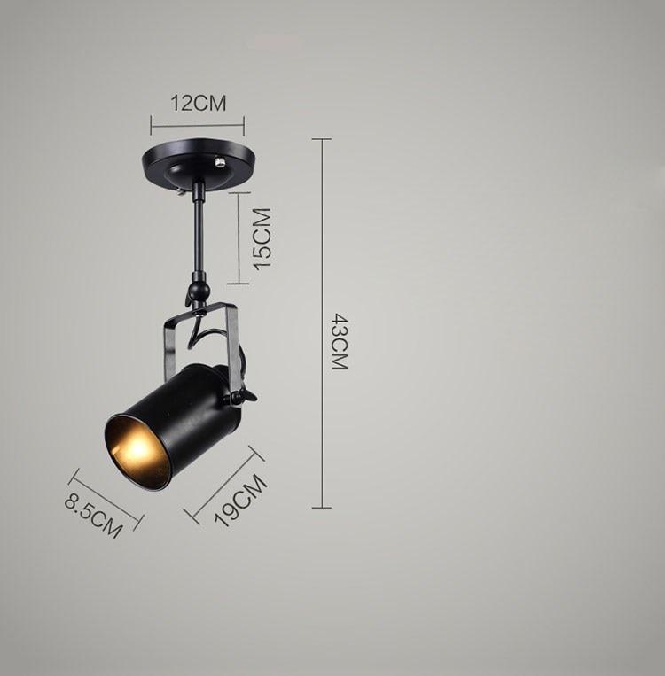 Three heads Loft LED Ceiling lamp