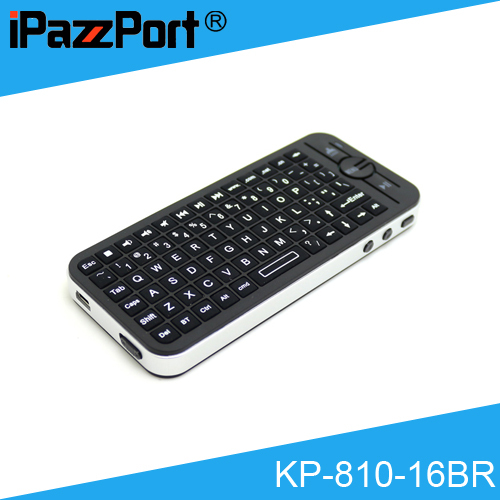 583671ce0ae [Free DHL] Original iPazzPort KP-810-16BR Mini Wireless Bluetooth  Keyboard/Air Mouse with Sleeve for Apply TV - 30pcs