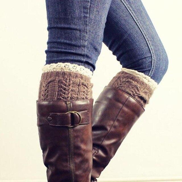 Calcetines de lana de invierno para las mujeres femeninas de moda ...