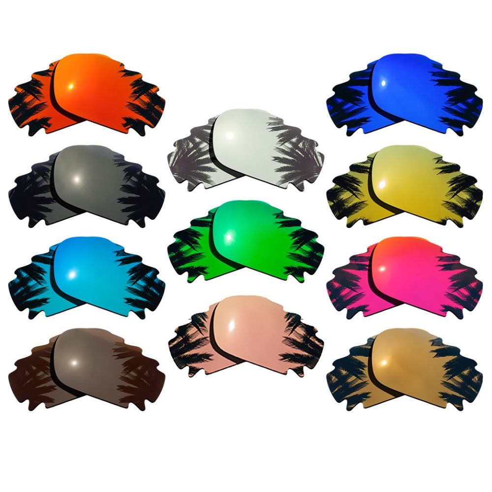 Polarized Mirrored Coating Replacement Lenses For-Oakley Jawbone Vented Frame Multi-Colors