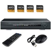 16ch AHD м 720 P в реальном времени видеонаблюдения Hybrid DVR 1080 P NVR HDMI Поддержка USB 3G Wi Fi
