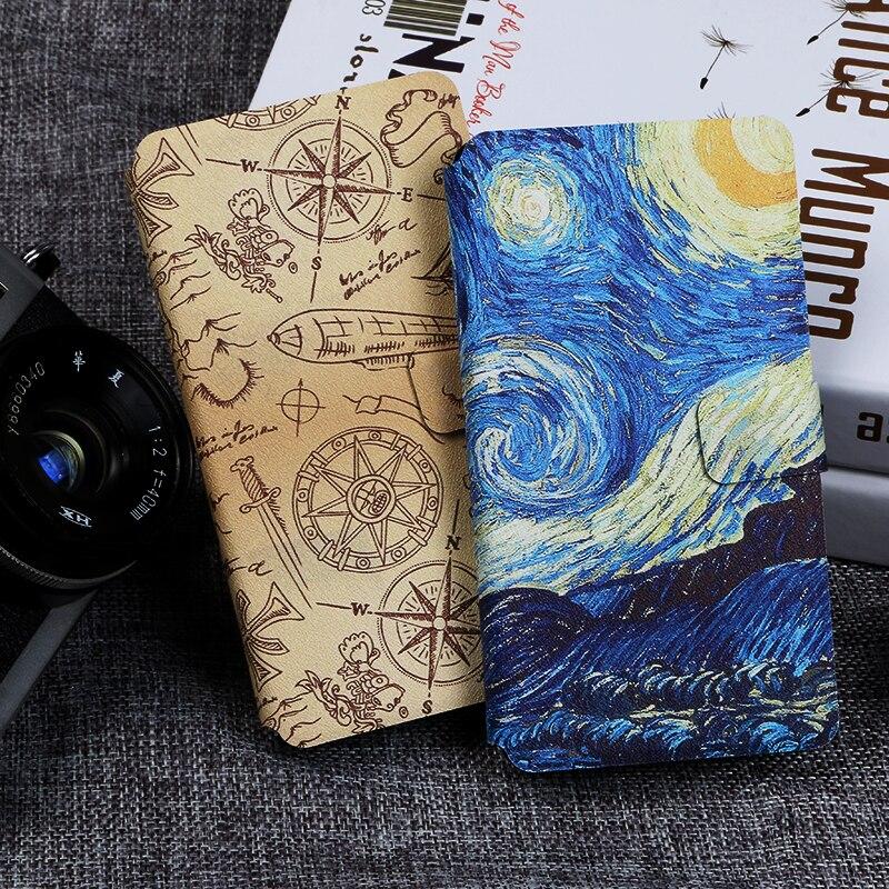 Flip phone case for LG Leon C40 Spirit C70 G Flex 2 Pro Lite Painting fundas wallet style protective cover for G2 G3 G4 Mini