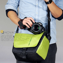 NOVAGEAR  DSLR Camera Bag Case Photo Shoulder Strap for Canon/Nikon/Sony Cameras