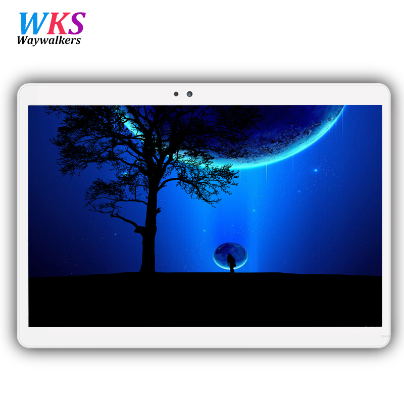 Free shipping 10.1 inch tablet pc Android 7.0 octa core RAM 4GB ROM 32/64GB Dual SIM card 1920*1200 tablets best Christmas gift