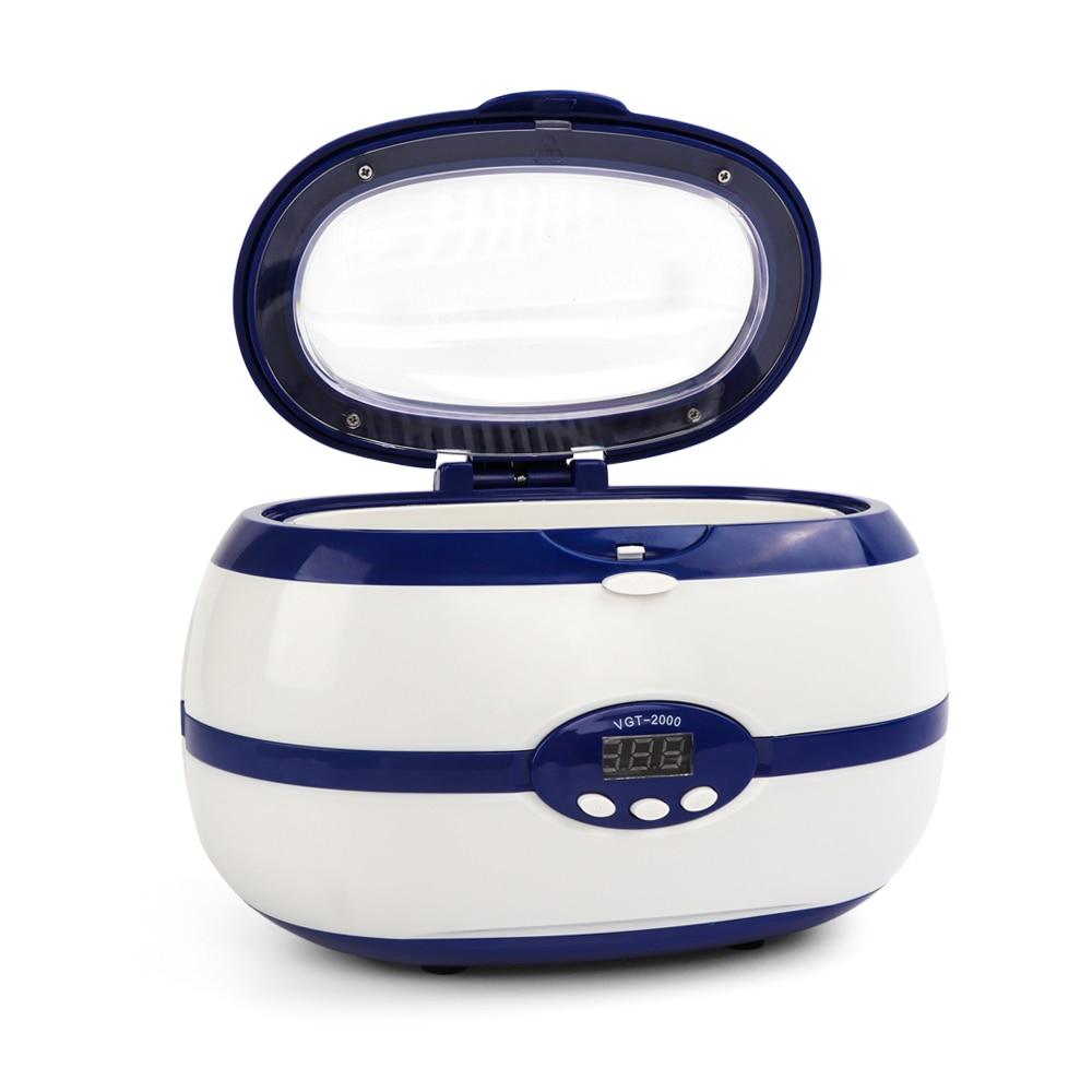 esterilizador ultrassonico para ferramentas de manicure profissional prego manicure ferramentas equipamento de lavagem para joias relogio