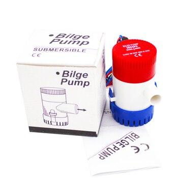 Bilge Pump 12V/24V DC New style 350 500 750 1100 GPH Submersible Pump /Cruise Ship Drain Pump / Marine Pump original new for washing machine parts drain pump px 2 35 ac220 240 35w drain pump motor good working