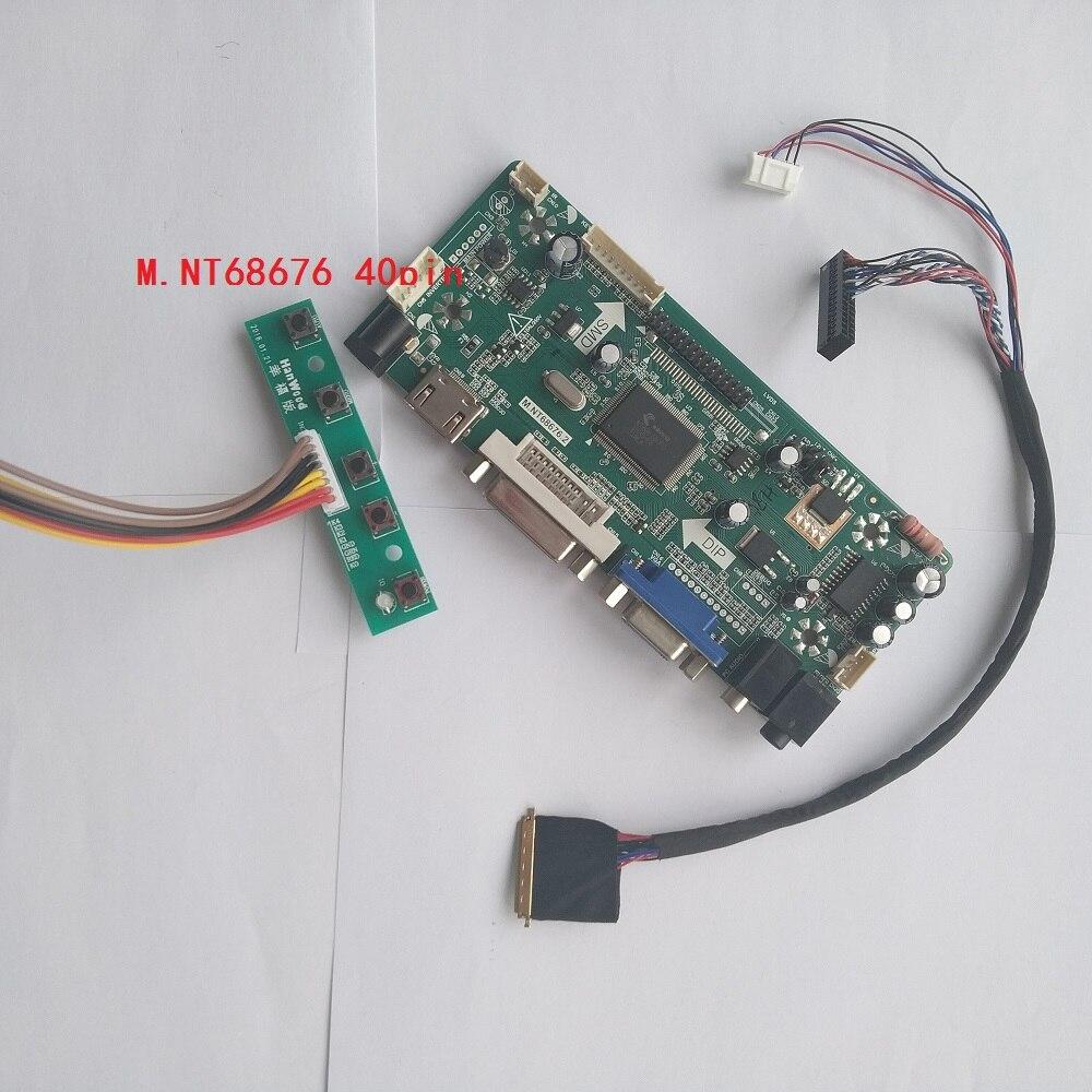 DVI+VGA+Audio LCD Controller Board For AUO B156XW02 B156XW03 1366*768 40Pin