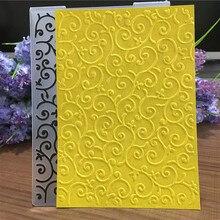 Пластиковая папка с тиснением для скрапбукинга, изготовление бумажных карточек, сделай сам, поздравительная открытка, фотоальбом, трафарет для украшения природы