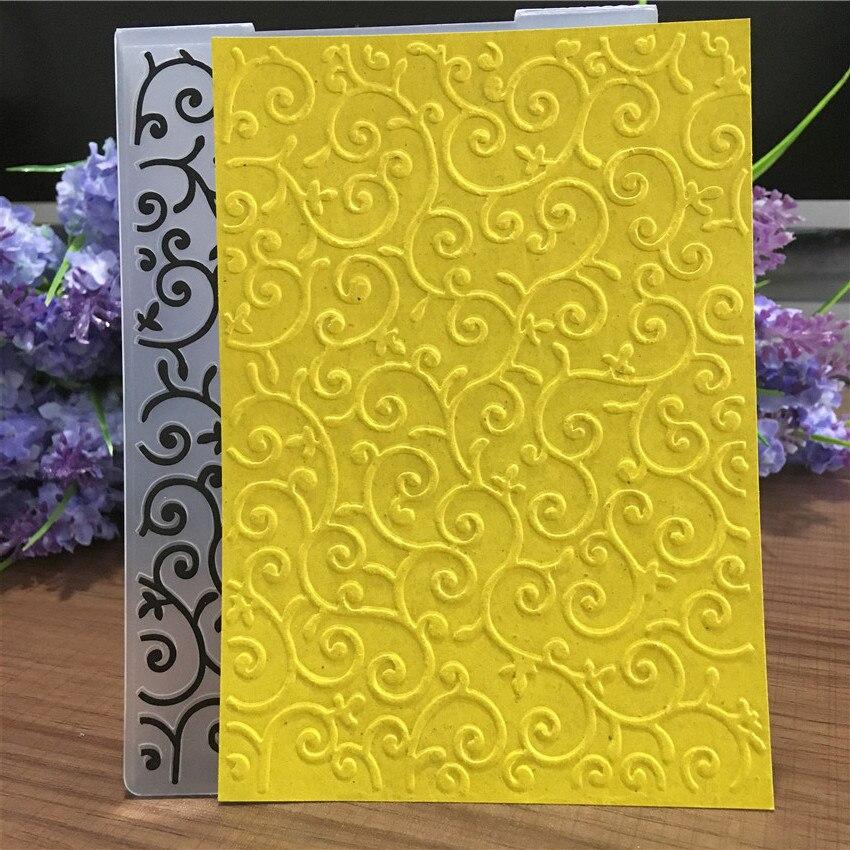 Arts,crafts & Sewing Able Panfelou Combination Lattice Embossing Folders Plastic For Scrapbooking Diy Template Fondant Cake Photo Album Card Making