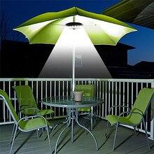 Patio Umbrella Light 3 Brightness Mode Cordless 28 LED Lights Battery  Operated For Umbrellas, Camping