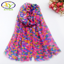 1PC 180*100CM 2016 Autom New Arrival Twill Cotton With Eagle Printed Fashion Women Long Scarf  Woman Pashminas Shawl