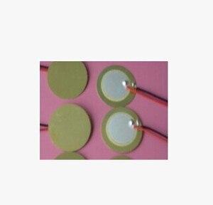 Image 1 - Elément piézo céramique 27mm avec câble 15CM livraison gratuite D27
