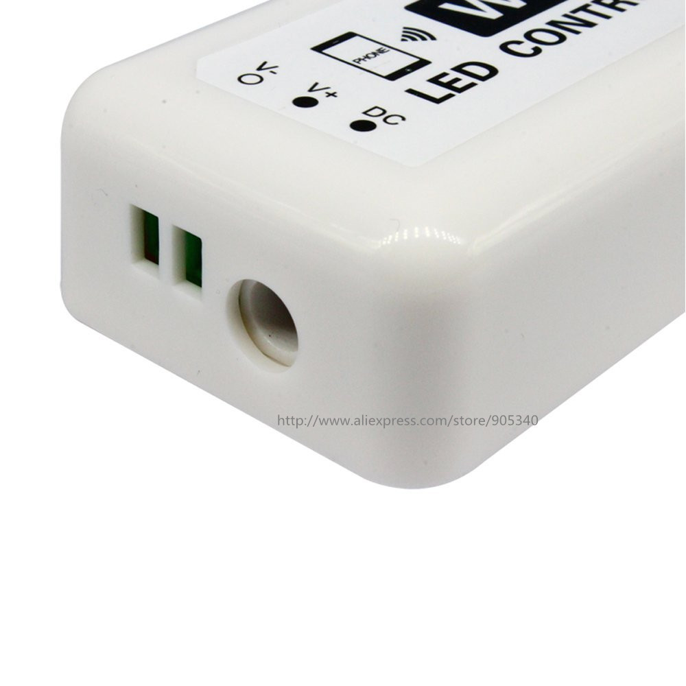 MINI LED WIFI Controller rgb DC12-24V 12A RGB LED շերտի - Լուսավորության պարագաներ - Լուսանկար 4