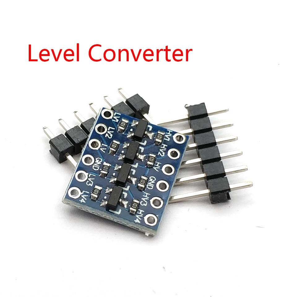 IIC I2C Logic Level Converter Bi-Directional Board Module 5V/3.3V DC For Arduino With Pins