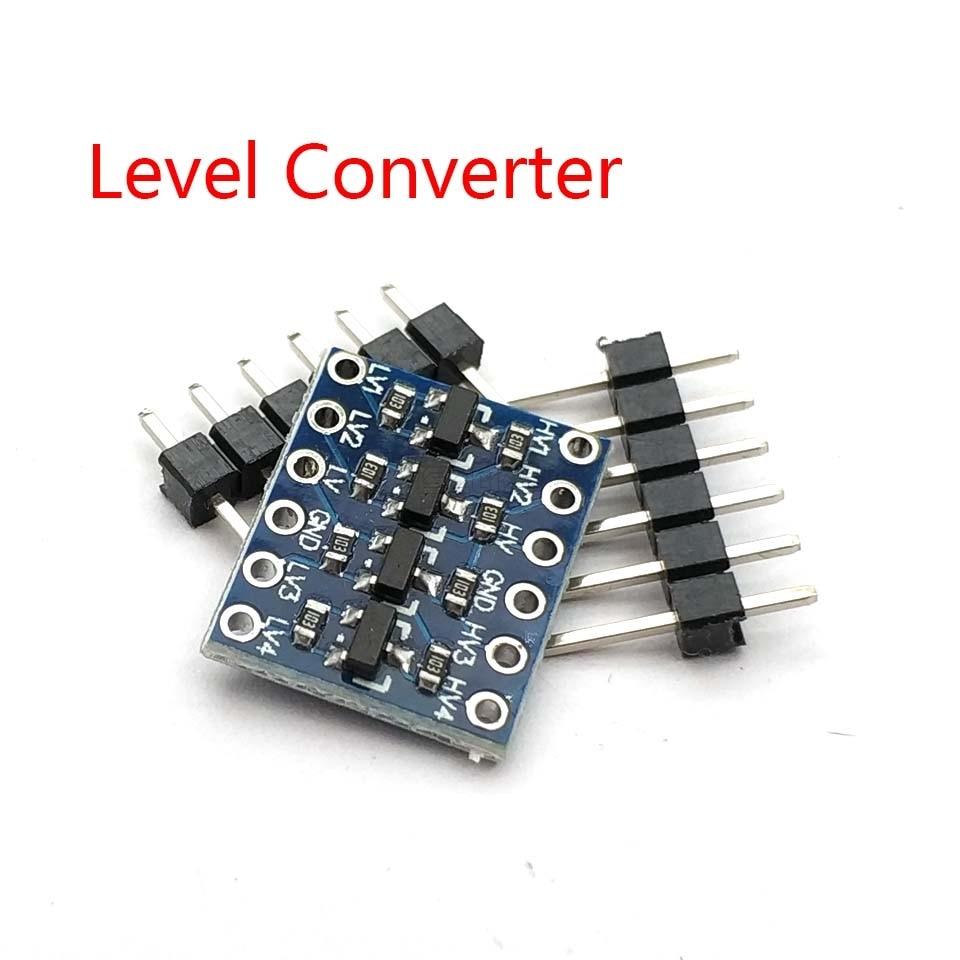 IIC I2C Logic Level Converter Bi-Directional Board Module 5V/3.3V DC For Arduino With Pins